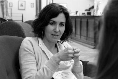 Cristina Campos: «Facebook me quita mucho tiempo para leer»