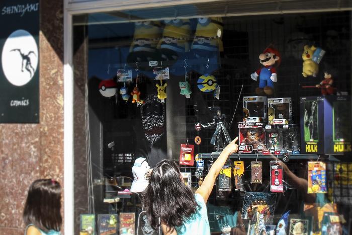 tienda de cómics león