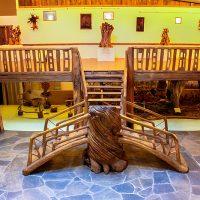 Donde la madera se deja tocar: La Casa de las Gentes de Balboa