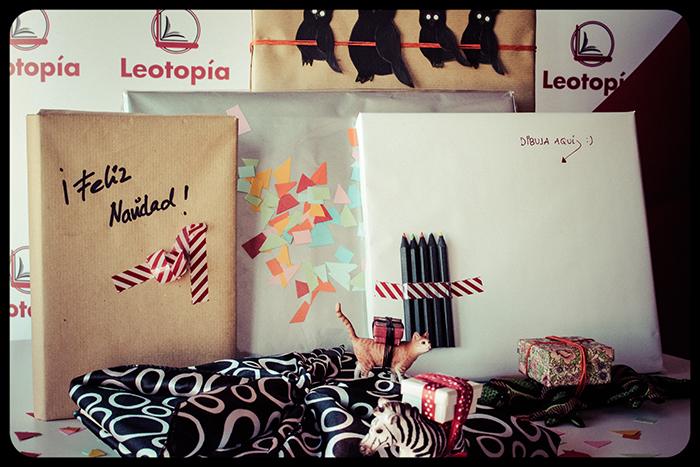 envolver un libro Leotopía