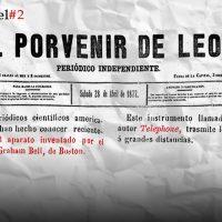De cuando apareció el teléfono en el primer periódico de León