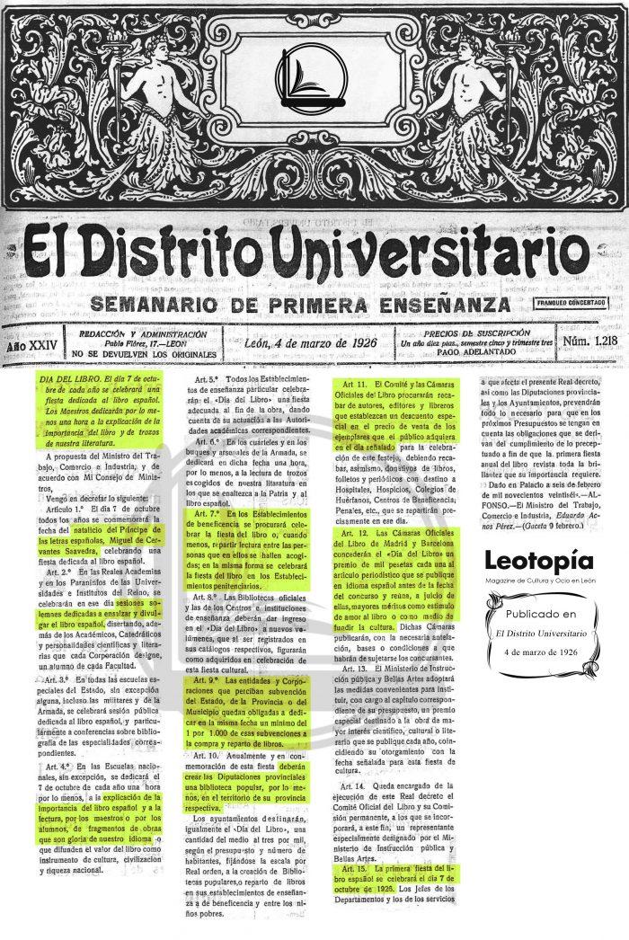 Día del Libro Leotopía