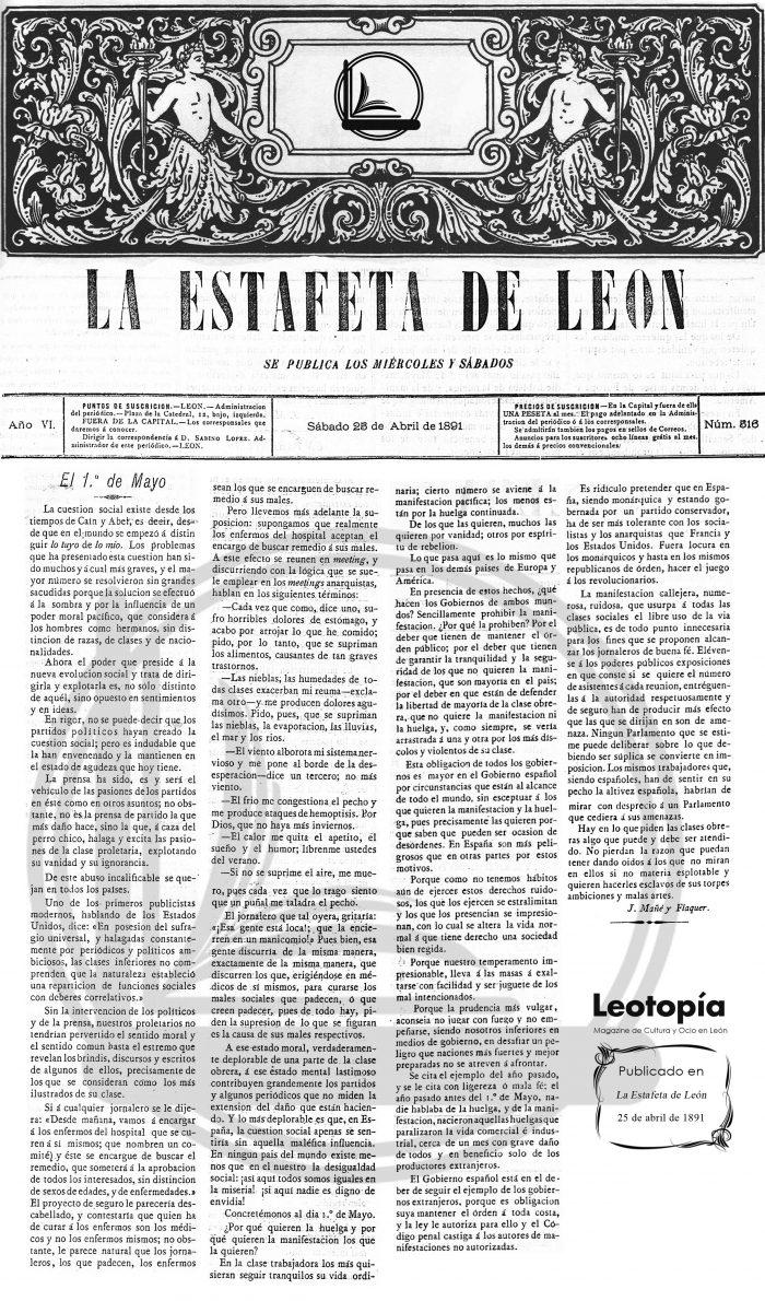 1 de mayo Leotopía