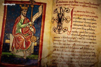 El rostro de los reyes en el Libro de las Estampas de la Catedral