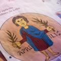 calendario agrícola de San Isidoro de León para colorear