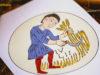 El calendario agrícola de San Isidoro para colorear: julio