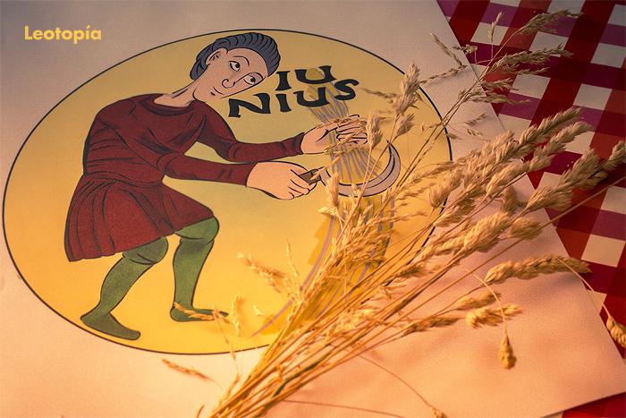 El calendario agrícola de San Isidoro para colorear: junio